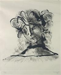 testa di donna by giuseppe mazzullo