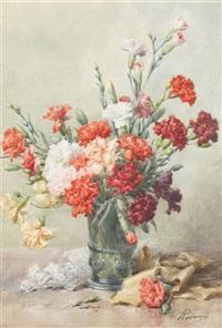 bouquet d'oeillets by françois rivoire