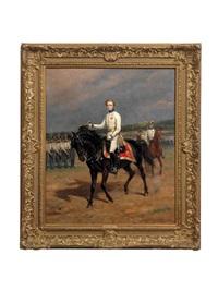 portrait of napoléon françois charles joseph bonaparte, prince imperial, king of rome, prince of parma (1811 - 1832) by raymond desvarreux-larpenteur