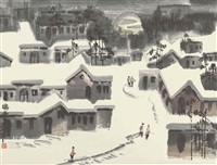 snowing by xu xi