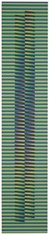 induction chromatique à double fréquence-bailadores by carlos cruz-diez