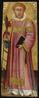 saint lawrence by bartolo di fredi