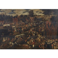 the kermesse of saint george by pieter balten
