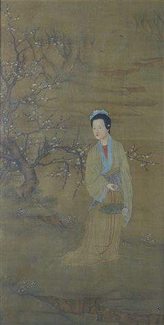 dame de cour by anonymous chinese qing dynasty