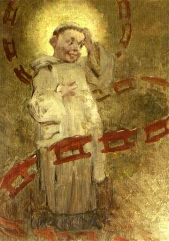 le petit moine aux pains dépice by stella mertens