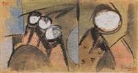 komposition (tsau) by sándor bortnyik