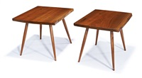 end tables (2) by george nakashima