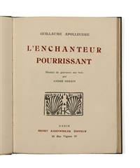 l'enchanteur pourrissant (bk by guillaume apollinaire w/32 works) by andré derain