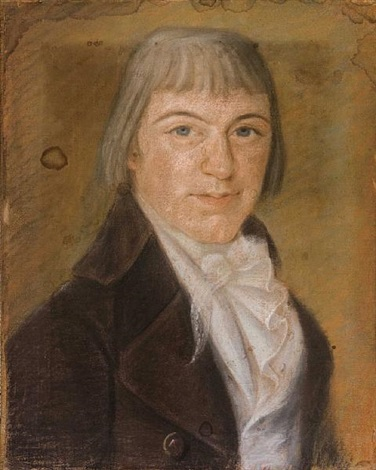 portrait of a young man by louis dulongpré