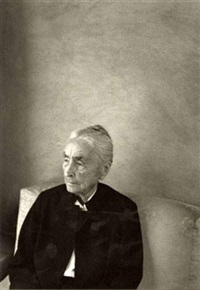 portrait de georgia o'keeffe by william clift