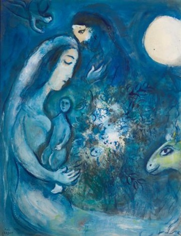 la famille by marc chagall