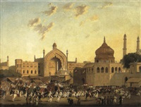rumi darwaza or 'constantinople gate' by robert (col.) smith