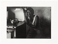 in the kitchen at emdeni south, soweto by david goldblatt