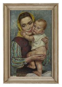 mother and child by charles cameron baillie