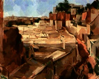 moulay-idriss ville sainte by alfred figueras