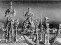 surrealistiska figurer by bertil gado