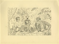 Album of Sixteen Autolithographs, 1921