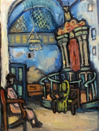 figures in the synagogue by miron sima