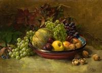 bodegon de frutas by sebastian gessa y arias