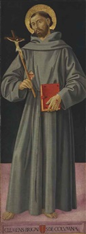 saint francis of assisi by romano antoniazzo