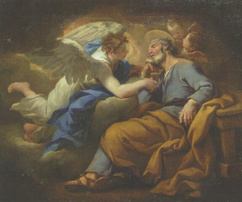 the dream of saint joseph by stefano maria legnani