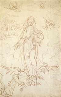immacolata concezione (+ another, verso) by stefano maria legnani