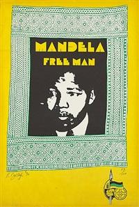 mandela free man by robert ballagh