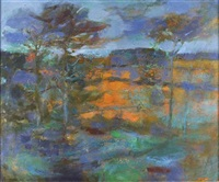 monymusk landscape by robert henderson blyth