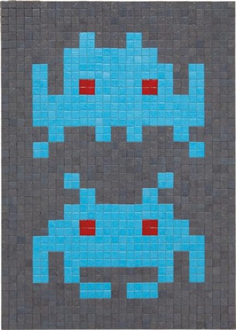 duo by invader