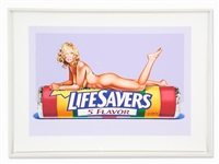 five flavour fannie (life savers) by mel ramos