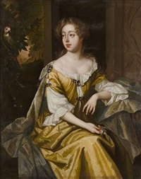 mrs trenchard sister of general erle by sir peter lely