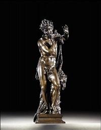 a dancing faun by giuseppe piamontini