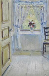 bouquet à la fenêtre by maria vasilievna yakinchikova-weber