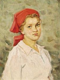 ludmila, a farm worker by vladimir andreevich mineyko