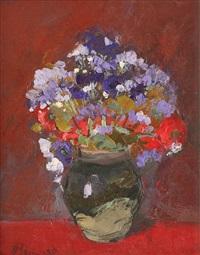 flowers by nicolae blei