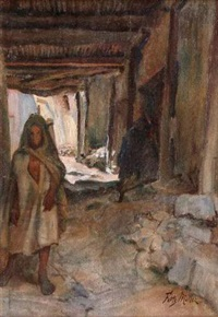 ruelle au maghreb by fritz muller