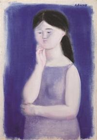 ritratto femminile by antonio bueno