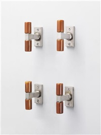 window handles (set of 4) by walter gropius
