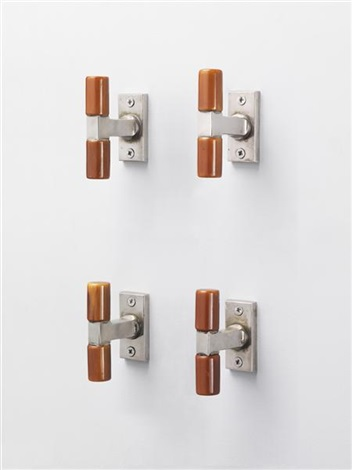 window handles set of 4 by walter gropius