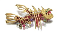 fish brooch by afro & masenza
