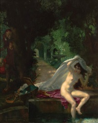 susanna and the elders by theodor baierl