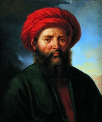 un oriental by alexandre-francois caminade
