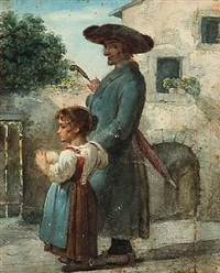 a father and a daughter by ernst meyer