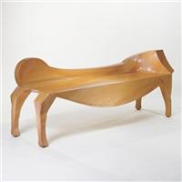 equestrian bench by john scofield