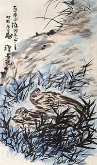 花鸟 by li kuchan