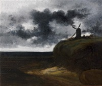 paysages au moulin by georges michel