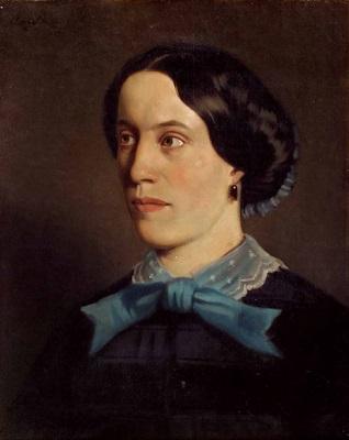 portrait von pauline geborene preyß by heinrich von angeli