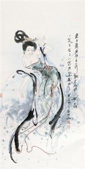 仕女图 by xue linxing