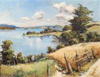 view of plön by jürgen runge