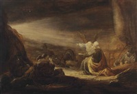 the liberation of saint peter by benjamin gerritsz cuyp